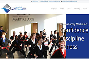 Aurora Family Martial Arts web site