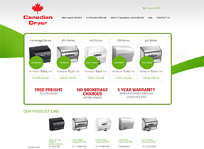 canadian dryer website