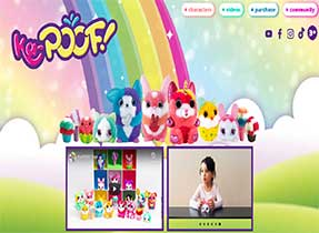 kapoof toys web site