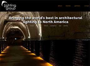 lighting group network homepage