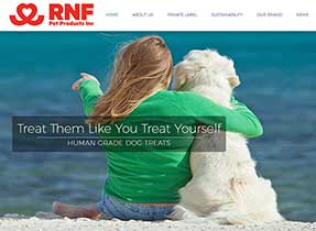 rnf pet foods website